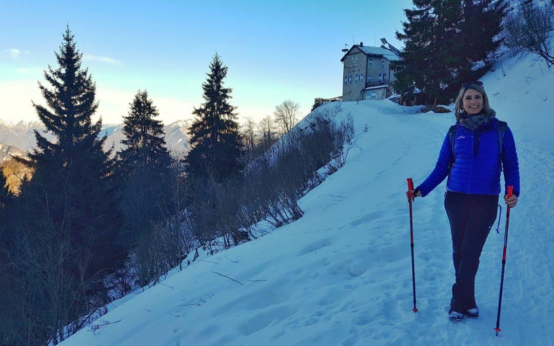 Passeggiata invernale al Rifugio Pernici