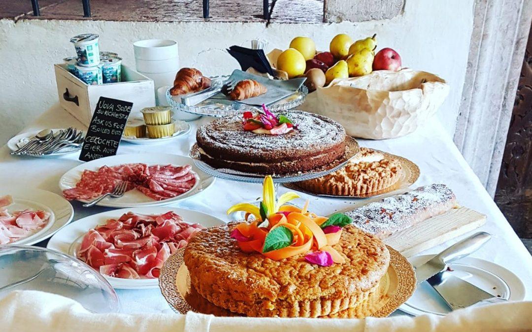 Colazione (e non solo) a Castel Pergine