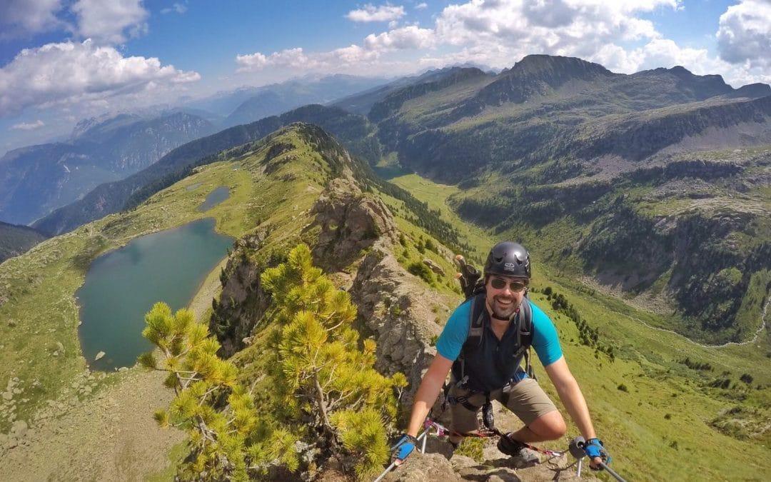 Ferrata dei laghi: emozioni sull'Alpe Cermis!