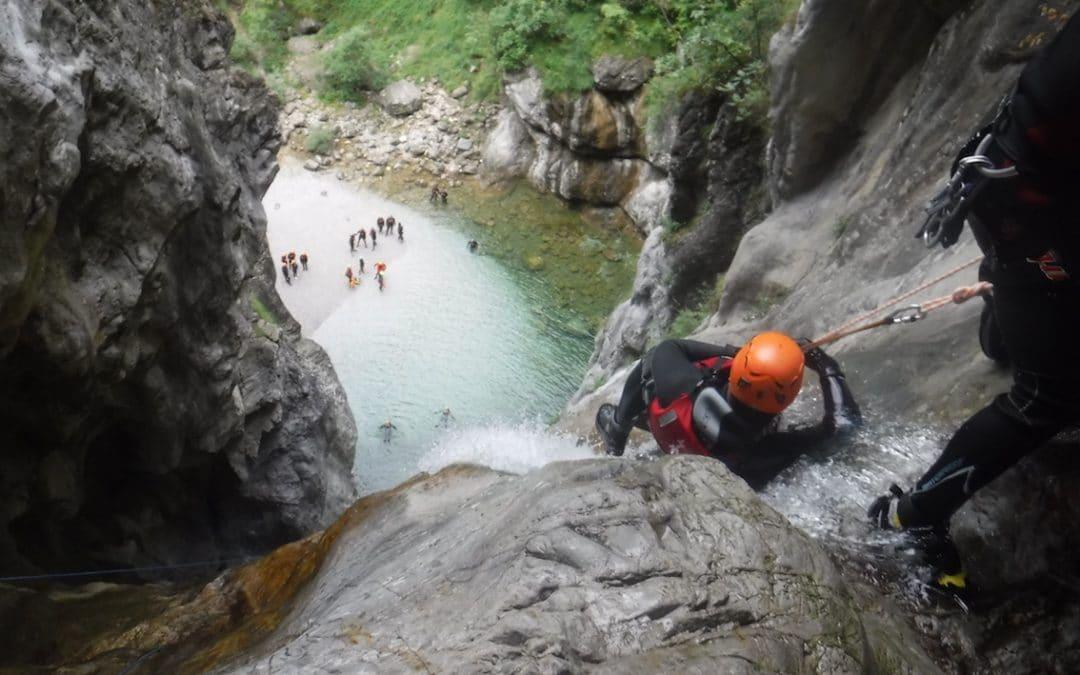 Canyoning nel Palvico: avventura indimenticabile
