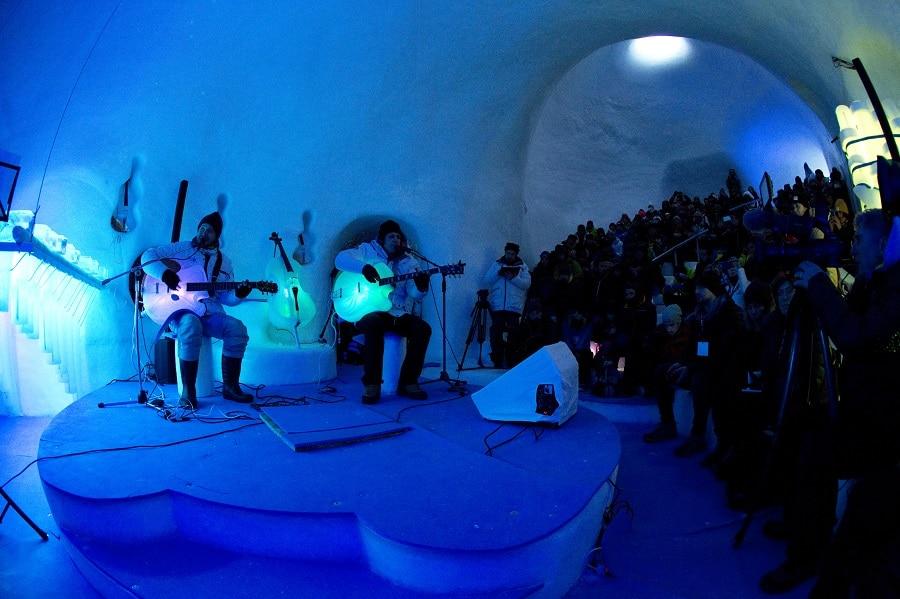 Ice Music: un'esperienza unica sul ghiacciaio Presena!