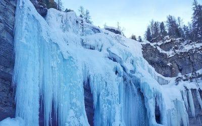Le cascate di ghiaccio imperdibili in Trentino