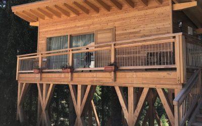 Tree House: la prima casa sull'albero in Trentino